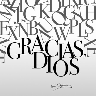 Gracias, Dios
