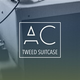 Tweed Suitcase Anthony Catacoli