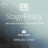 Analog V Pad - StageReady MainStage Expansion Peter James