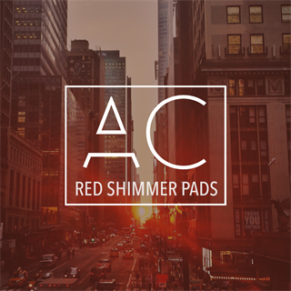 Red Shimmer Pads