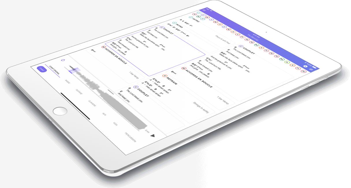 Partition pour iPad