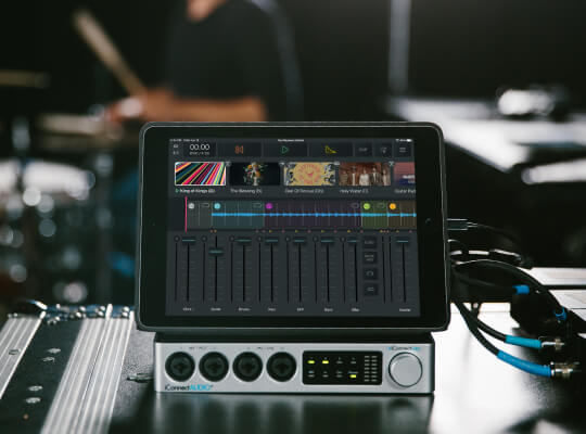 Playback: An iOS MultiTrack Player for Worship Teams