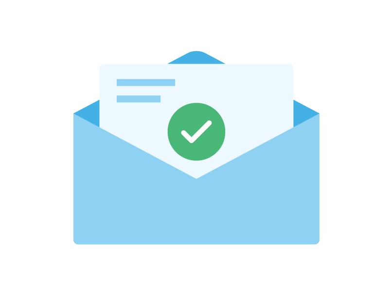 E-mail envoyé