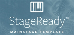StageReady MainStage Template