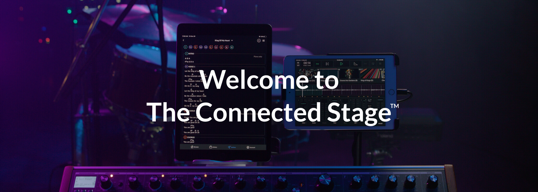Welcome to the Connected Stage