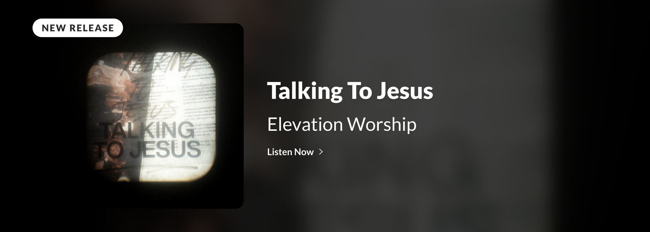 Elevation Worship | Talking To Jesus