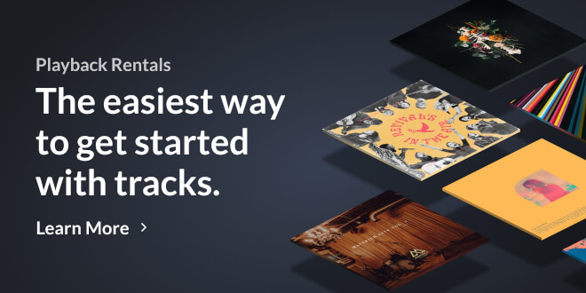 Rent from thousands of MultiTracks in Playback for one monthly price.