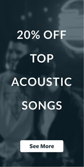 20% Off Top Acoustic Songs