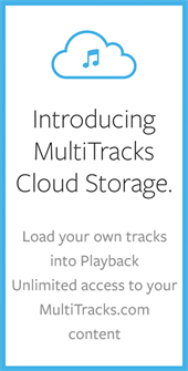 Safely Store Your Audio Files, Stems & MultiTracks in the Cloud